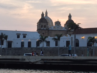 View of Old Town from Cartagena Bay