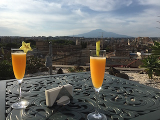 Bellini-cocktails-view-of-Mt.-Etna-Etnea-Roof-Bar-UNA-Hotel-Palace-Catania
